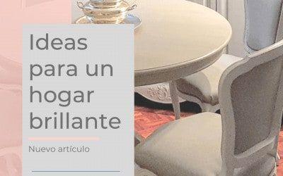 Ideas con mucho gusto para un hogar ¡brillante!